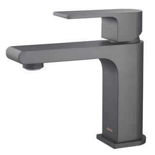 Stufurhome Monty 1.2 GPM Single Hole Matte Black Faucet