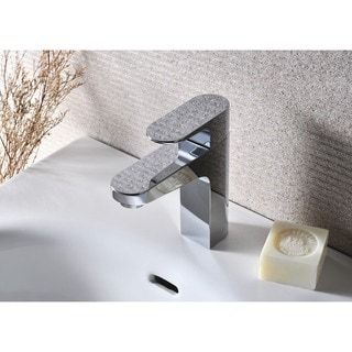 Stufurhome Jackson 1.2 GPM Single Hole Chrome Faucet