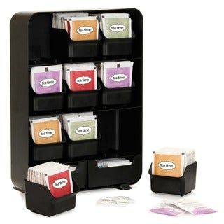 Mind Reader BAGGY Tea Bag and Accessory Rack