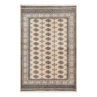 Herat Oriental Pakistani Hand-knotted Tribal Bokhara Wool Rug (5'1 x 7'10)