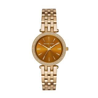 Michael Kors Women's Darci Diamond Amber Sunray Dial Gold-Tone Stainless Steel Bracelet Watch MK3408|https://ak1.ostkcdn.com/images/products/10406478/P17507885.jpg?impolicy=medium