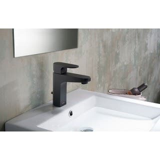 Black Bathroom Faucets For Less   Overstock