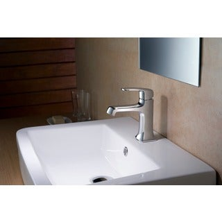Stufurhome Ella 1.2 GPM Single Hole Chrome Faucet