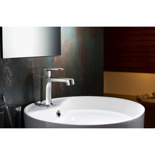 Stufurhome Devon 1.2 GPM Single Hole Chrome Faucet