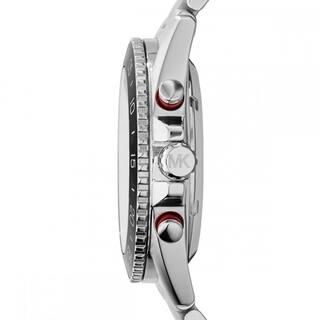 0102119fd0b6 Michael Kors Men s Jet Master Automatic Multi-Function Skeletal Dial Stainless  Steel Bracelet Watch MK9011