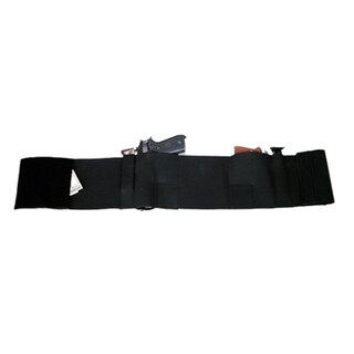 Large Black Deluxe Belly Band