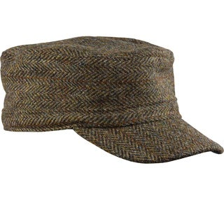 Stormy Kromer 'Flat Top' Harris Tweed
