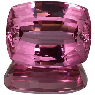 Cushion-cut 9.3x11.9mm 6 1/8ct TGW Pink Spinel