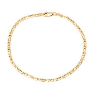 Pori 10k Yellow Gold Marina Chain Bracelet