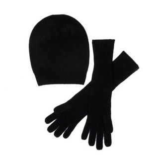 MILA Cashmere Beanie and Gloves