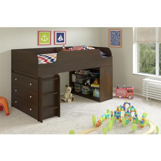 Avenue Greene Elements Resort Cherry with Bookcase and Dresser by Cosco