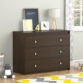 Ameriwood Home Elements Resort Cherry 3-drawer Dresser by Cosco