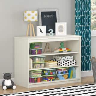Altra Elements White Bookcase by Cosco|https://ak1.ostkcdn.com/images/products/10409942/P17510735.jpg?impolicy=medium