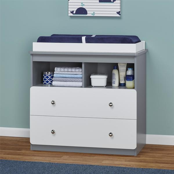 Avenue Greene Windmill Gray/ White Changing Table
