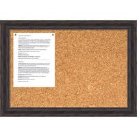 Antique Pine Cork Board - Medium' Message Board 28 x 20-inch