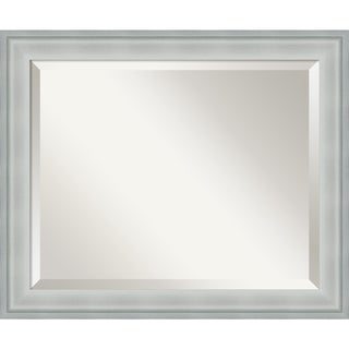 Wall Mirror Medium, Metro Silver 19 x 23-inch