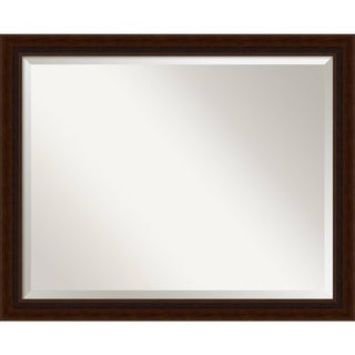 Wall Mirror Large, Marquis Cherry 31 x 25-inch