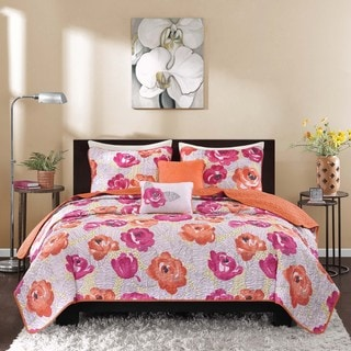 Intelligent Design Mila 5-piece Coverlet Set
