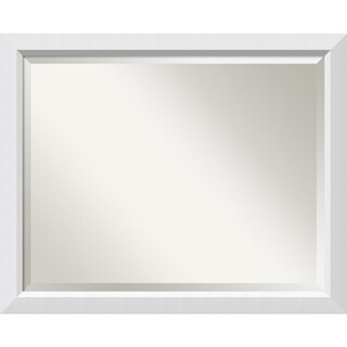 Wall Mirror Large, Blanco White 32 x 26-inch - large - 32 x 26-inch