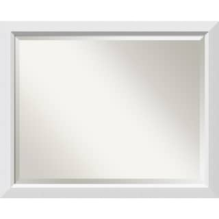 Wall Mirror Large, Blanco White 32 x 26-inch