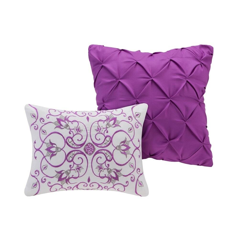 Shop Intelligent Design Kinley 5-piece Comforter Set - Overstock - 10410050