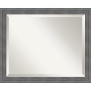 Wall Mirror Medium, Dixie Grey Rustic 18 x 22-inch
