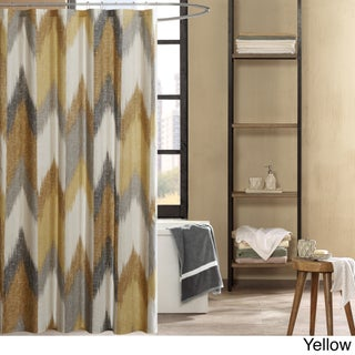 Ink+Ivy Alpine Cotton Printed Shower Curtain (3 options available)