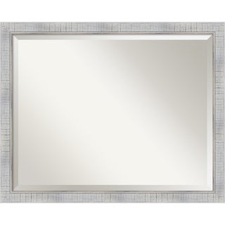 The Gray Barn Wilset Large Whitewashed Mirror
