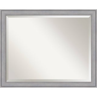 Wall Mirror Large, Graywash 32 x 26-inch