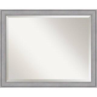 Wall Mirror Large, Graywash 32 x 26-inch