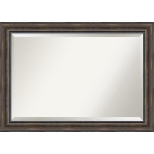 Wall mirror extra large rustic pine 42 x 30 inch free for 4 x 5 wall mirror