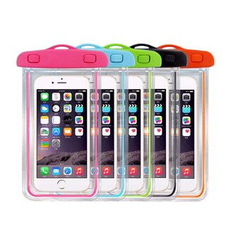 MaximalPower Universal Waterproof Smartphone Pouch with Glowing Bumper