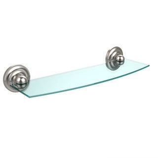 Allied Brass Prestige Que New Collection 18-inch Glass Shelf