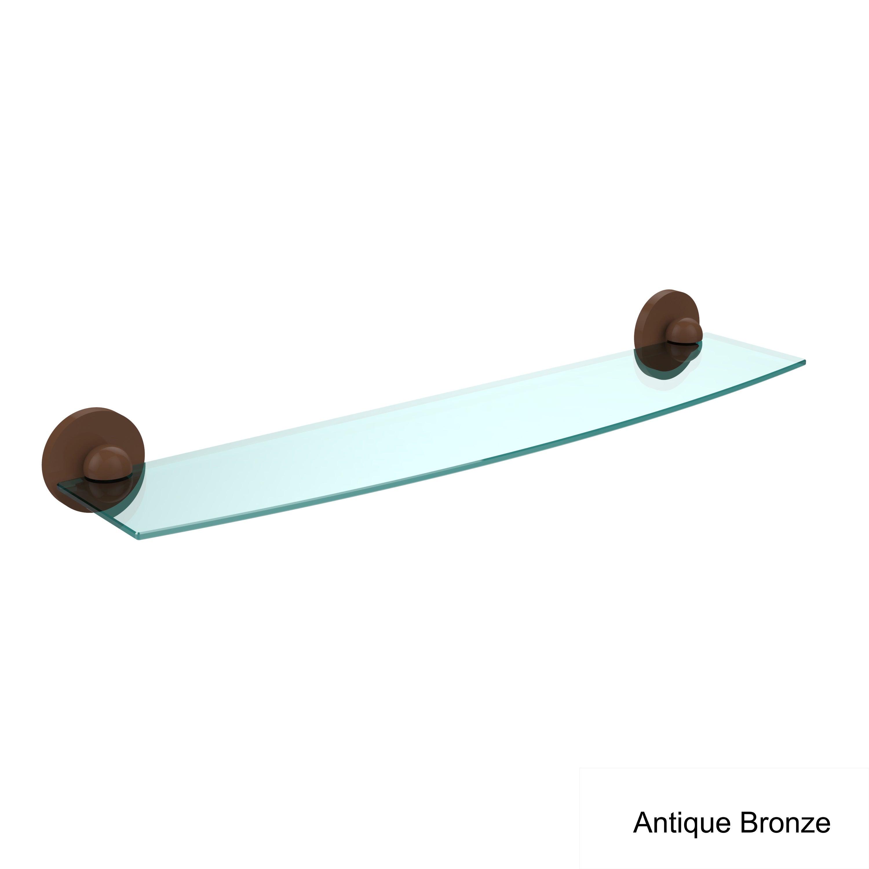 Allied Brass Universal 18 X 5 Glass Shelf   eBay