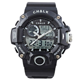 Chalk Velocity Carbon V Men's 52mm White Extreme Sports Watch