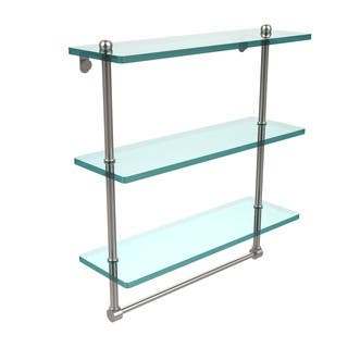 16-inch 3-tiered Glass Shelf with Integrated Towel Bar|https://ak1.ostkcdn.com/images/products/10410382/P17511144.jpg?impolicy=medium