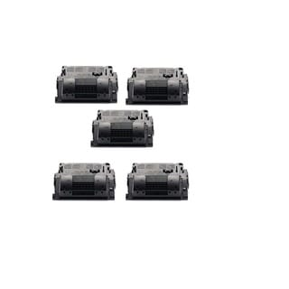 NL-Compatible LaserJet CE390X Black Compatible Quality High Yield Toner Cartridge(Pack of 5)