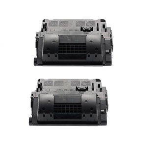 Compatible LaserJet CE390X Black Compatible Quality High Yield Toner Cartridge (Pack of 2)