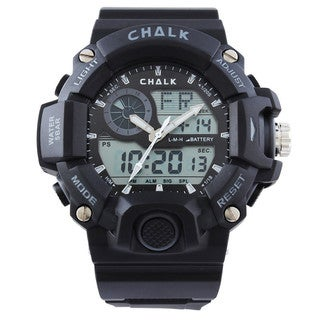 Chalk Velocity Carbon V Men's 52mm Extreme Sports Watch