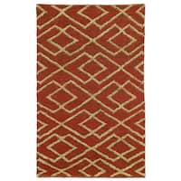 Kosas Home Melina Soumak Natural FiberJute Rug (8' x 10') - 8' x 10'