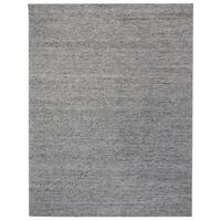 Kosas Home Handwoven Calla Grey Heathered Wool Rug (8' x 10')