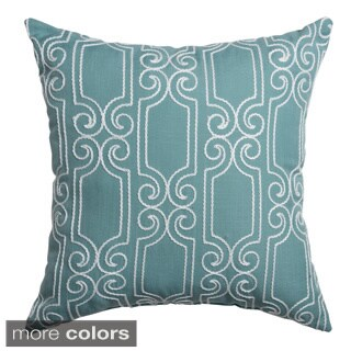Beverly Feather and Down Filled 20-inch Throw Pillow (Set of 2)
