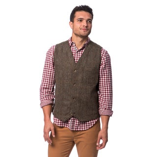 Stormy Kromer Men's Harris Tweed Uptown Vest