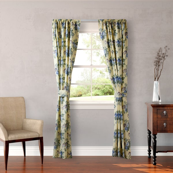 Laura Ashley Linley 4-Piece Lined Drape Set - 54 x 84