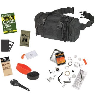 Snugpak 10-Piece Responsepak Survival Bundle Black