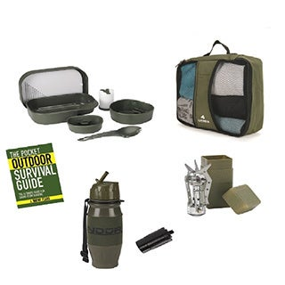 Snugpak Survival 5-piece Camp Set in Carrying Case Olive