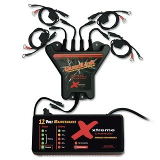 PulseTech Xtreme 4-Station QuadLink Battery Charger Kit