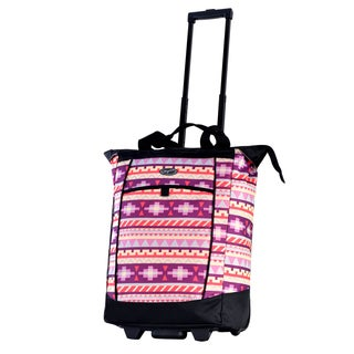 Olympia Tribal Fashion Rolling Shopper Tote