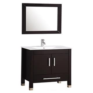 MTD Vanities Monaco 36-inch Single Sink Bathroom Vanity Set