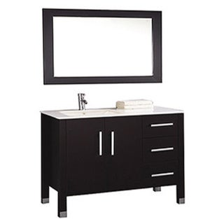 left side sink bathroom vanity shop mtd vanities monaco 40 inch single sink bathroom 23672